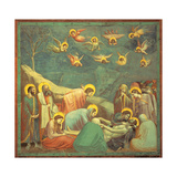 Stories of the Passion the Mourning Over the Dead Christ Giclee Print by  Giotto