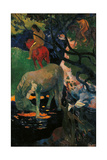 The White Horse Giclee Print by Paul Gauguin