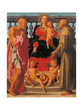 Madonna and Child with Two Saints Giclee Print by  il Pontormo