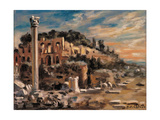 The Palatin Hill Giclee Print by Giorgio De Chirico