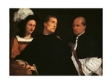 Interrupted Concert Giclee Print by  Titian