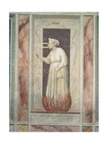 Allegory of Vice and Virtue Envy Giclee Print by  Giotto di Bondone
