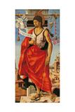 Griffoni Polyptych St John the Baptist Giclee Print by Francesco Del Cossa