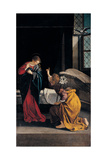 The Annunciation Giclee Print by Gentileschi Orazio