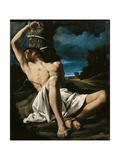 St Sebastian Giclee Print by  il Guercino