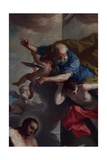 St. Jerome Emiliani Introducing Children to the Trinity Giclee Print by Giambettino Cignaroli