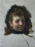 Woman Face (Volto Di Donna) Lámina giclée por Demetrio Cosola