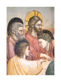 Stories of the Passion the Last Supper Giclée-tryk af Giotto di Bondone