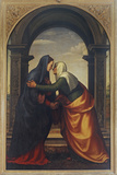 The Visitation Giclee Print by  Albertinelli