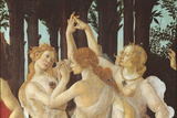 Primavera Reproduction procédé giclée par  Botticelli