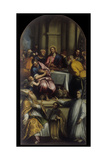The Last Supper with Saint Apollinaris and Holy Lorenzo Giustiniani Giclee Print by Matteo Ingoli
