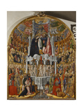 Coronation of the Virgin Giclee Print by Antonio Vivarini