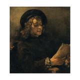 Portrait of Titus Giclee Print by  Rembrandt van Rijn