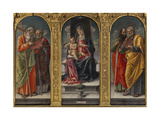 Vivarinis Polyptych Giclee Print by Bartolomeo Vivarini