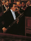 The Orchestra at the Opera House Giclee Print by Edgar Degas