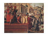 The Baptism of the Selenites Giclee Print by Vittore Carpaccio