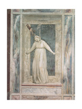 Allegories of Virtues and Vices Giclee Print by  Giotto di Bondone