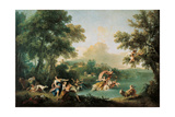 The Rape of Europa Giclee Print by Francesco Zuccarelli