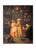 The Apothecary Giclee Print by Pietro Longhi