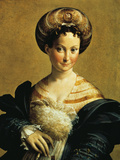 The Turkish Slave Gicleetryck av Parmigianino,