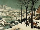 Pieter Bruegel the Elder - The Hunters in the Snow Digitálně vytištěná reprodukce