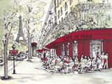 Café de Paris Art by Chloe Marceau