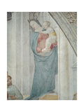 Stories of St Peter Martyr St Peter Unveils the False Madonna Giclee Print by Vincenzo Foppa