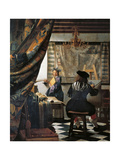 The Art of Painting Giclee Print by Jan Vermeer