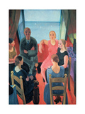 The Foreigner Giclee Print by Casorati Felice