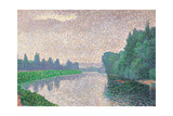 Banks of the River Giclee Print by Signac Paul