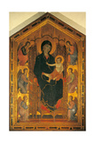 Madonna Ruccellai (Madonna Enthroned with Child and Six Angels) (Majesty) Giclee Print by Duccio Di buoninsegna