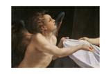 Jupiter and Dana Giclee Print by  Correggio