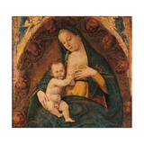 The Nursing Madonna Giclee Print by Luca Signorelli