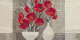 Crimson Beauty II Posters