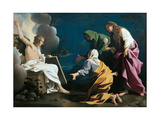 The Three Marys at the Sepulcher Lámina giclée por Bartolomeo Schedoni