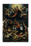The Martyrdom of Four Crowned Saints Giclee Print by Jacopo Ligozzi