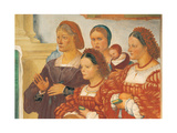 Stories of St Bridget Giclee Print by Lotto Lorenzo