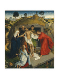 The Entombement of Christ - Lamentation Over the Dead Christ Giclee Print by Van der Weyden Rogier