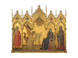 Annunciation Giclée-Druck von Simone Martini