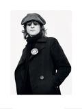John Lennon (Button - Bob Gruen) Print