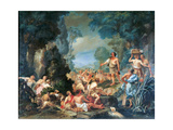 Frugoni in Arcadia Giclee Print by Pietro Melchiorre Ferrari