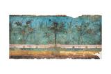 Summer Triclinium: Garden Paintings, 20, 1st Century, Mural Reproduction procédé giclée par Unknown Artist