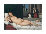 Venus of Urbino Giclee Print by  Titian