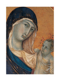 Madonna and Child with Six Angels Giclee Print by Duccio Di buoninsegna