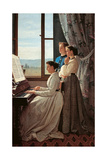 The Folk Song Impression giclée par Silvestro Lega
