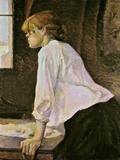 The Laundress (La Blanchisseuse) Giclee-trykk av Henri de Toulouse-Lautrec