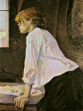 The Laundress (La Blanchisseuse) Giclee Print by Henri de Toulouse-Lautrec