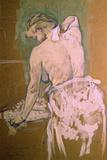 Toilette Giclee Print by Henri de Toulouse-Lautrec