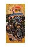 A Beggar Exhorts the King of Palestine Giclee Print by Vitale da Bologna