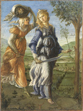 Stories of Judith the Return of Judith From the Field of Holofernes (Return of Judith To Betulia) Giclée-Druck von Sandro Botticelli